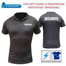Polo Patrol Cool Dry Sécurité Taille M