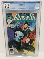 The Punisher #4 CGC 9.6 NM+ First Appearance Of Microchip (1987) Klaus Janson
