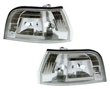 For 1992-1993 Honda Accord Crystal Clear Corner Park Lights DEPO PAIR