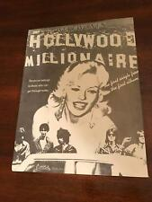1978 Vintage 8X11 Print Ad For Werewolves Hollywood Millionaires Jayne Mansfield