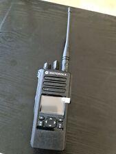 DP4601e UHF Radio. AES, DMR,Wi-fi, Analogue HAM. Lightly used
