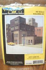 DESIGN PRESERVATION MODELS CITY CAB COMPANY HO SCALE BUILDING KIT