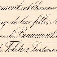 Adrienne Bonnin De La Bonninière De Beaumont 1887 De Vaux De Foletier