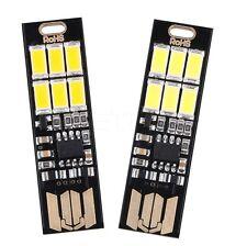 6 LED Light Mini USB Power USB Licht Kebidu Beleuchtung dimmbar Touch sensor