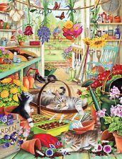 Rectangular Jigsaw - Allotment Kittens