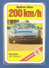Quartett - Spitze über 200 km/h - ASS 3044/2 - Taschengeld Serie 1979 - Auto