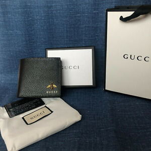 Gucci bee Wallet black