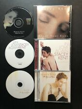 3 Stacey Kent CD's: Close Your Eyes, In Love Again, The Boy Next Door -FREE SHIP