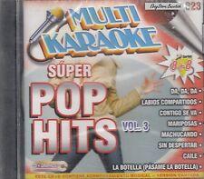 Kudai Molotov Mana Bacilos Super Pop Hits Vol 3 Multi Karaoke Nuevo SEALED