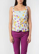 MARC JACOBS t-shirt sleeveless floral authentic Size 4 US / 6 UK / Small NWT