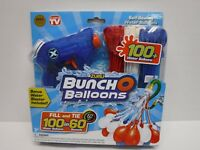Buncho Balloon 100 Water Balloons with Water Gun NEW