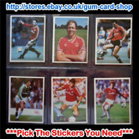 ☆ Daily Mirror 1986-87 Stick With Soccer (CHARLTON ATHLETIC) *Select Stickers*