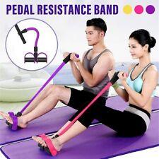 Corde de Traction élastique Bande de Résistance 4 tubes pour fitness Yoga Sport