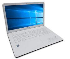 ASUS F705M Notebook 17 Zoll HD+ Quad Core 4 x 2,7GHz 4GB 500GB Win10 Weiß