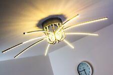 Plafonnier moderne LED Lampe à suspension chromée Lustre Lampe de séjour 117651