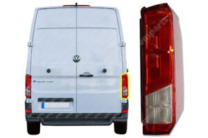 VW Crafter Rear Light Tail Light Lamp Lens Right Driver O/S New 2017 On Models