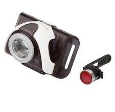LED LENSER Bike lamp SEO B3 B2R WHITE FRONT BIKE LIGHT & RECHARGEABLE REAR LAMP