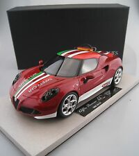 Alfa Romeo 4c Safty car SBK top 10 BBR top marques 1:18