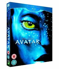 Avatar (2010) Blu-Ray NEW SEALED Blu Ray + DVD + Slipcase Uk R2/B UK FREEPOST