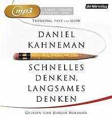 Schnelles Denken, langsames Denken von Kahneman, Daniel   Buch   Zustand gut