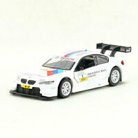 1:42 BMW M3 DTM(E92) Racing Car Model Diecast Toy Vehicle Kids White Pull Back