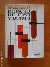 DIDACTICA DE FISICA Y QUIMICA - JUAN ARRANZ FRAILE - ANAYA (7L)