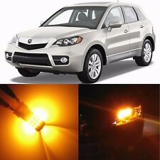 Alla Lighting Front Turn Signal Light 7444NA Amber LED Bulbs for 13~15 Acura RDX