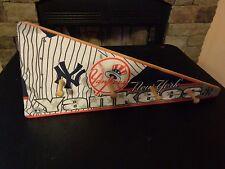 NEW YORK YANKEES AL EAST MLB BASEBALL BANNER CHILD'S  WOODEN WALL DECOR HAT RACK