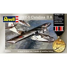 REVELL 00004 PBY-5 CATALINA II a 1/72 scale plastic model kit