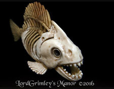 Original Bonez Piranha Fish Skeleton Halloween Prop Horror Undead