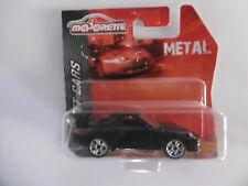 PORSCHE 911 GT3  noire  ech 1/59  MAJORETTE   métal  neuf  blister non ouvert