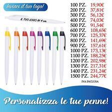 Penne personalizzate gadget   A SFERA 100 pz VIOLA PERSONALIZZATE QUADRICROMIA