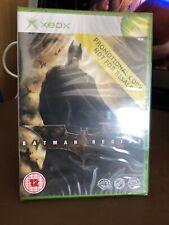 Batman Begins Xbox Original Rare Promo Video Game Brand New Sealed Free P&P