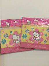 HELLO KITTY Two Pkgs -8 Ea -Thank You Cards With Envelopes