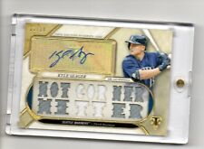 2017 Topps Triple Threads KYLE SEAGER AUTO PATCH!!! 13/18( HOT CORNER)
