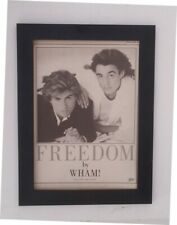 GEORGE MICHAEL*WHAM*Freedom*ORIGINAL*A4*ADVERT*FRAMED*FAST WORLD SHIP*