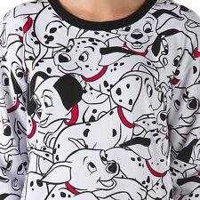 NEW Womens HTF Disney VANS 101 Dalmatians Puppy Dog Top Sweatshirt Shirt Small
