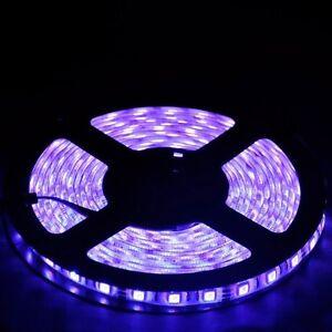 24V 20 Meter 66ft RGB 5050 Waterproof LED Strip Light 44 Key IR Remote Power Kit