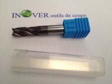12mm HRC55 Carbide endmill for roughing 4 flutes 10%CO micrograin for hard steel