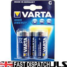 8 x C Size VARTA High Energy 1.5V Batteries  MN1400 LR14 UM2 4914 BABY1/2Torcia