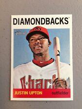 2013 Topps Heritage SP Justin Upton Diamondbacks 453