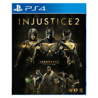 Injustice 2 Legendary Edition Steel Book PlayStation PS4 2018 Asia HK English
