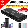 2USB Portable Power Bank 900000mAh Fast Charging External Backup Battery Charger