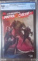 Justice League vs. Suicide Squad (2016) #1 CBCS 9.8 Rare Mattina A