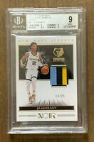2019 NOIR JA MORANT NEW WAVE JERSEYS PATCH RELIC SP /25 ~ BGS 9 MINT + SUBS