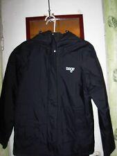 "orage black nylon spring fall jacket sz XS 36"" bust"