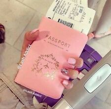 USA SELLER ❤ VS Victoria Secret Inspired PASSPORT COVER Pink case Holder Fashion