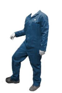 "BOILERSUIT - COVERALL large 45"" chest 30"" leg  DARK PETROL  BLUE - BS26"