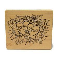 Inkadinkado Galerie Vernissage Wedding Rubber Stamp Together Forever 8714X