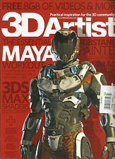 3D ARTIST MAGAZINE, ISSUE  NO. 103 ( SORRY FREE 8GB OF VIDEOS & MORE ARE MISSING